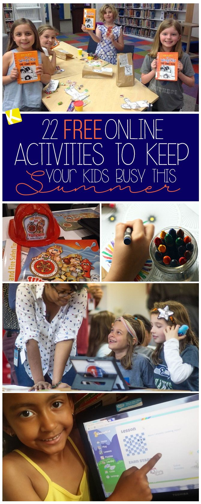 22 Free Online Activities to Keep Your Kids Busy This Summer | Business for  kids, Activities for kids, Helping kids