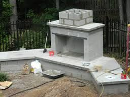 how to build a large outdoor fireplace - Google Search