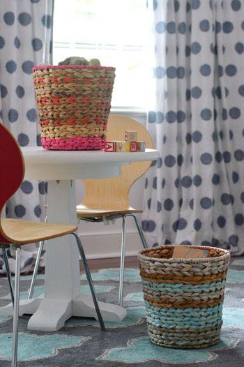 Weekly Crafty: Basket Painting