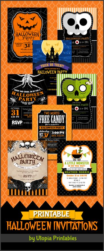 1000 Images About Printable Halloween Invitations On