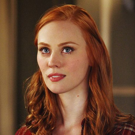 Deborah Ann Woll--Perfect hair color.
