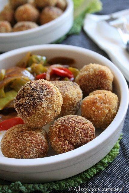 Boulettes+lentilles+corail-quinoa,+bio+{sans+gluten,+sans+oeufs,+sans+lait}
