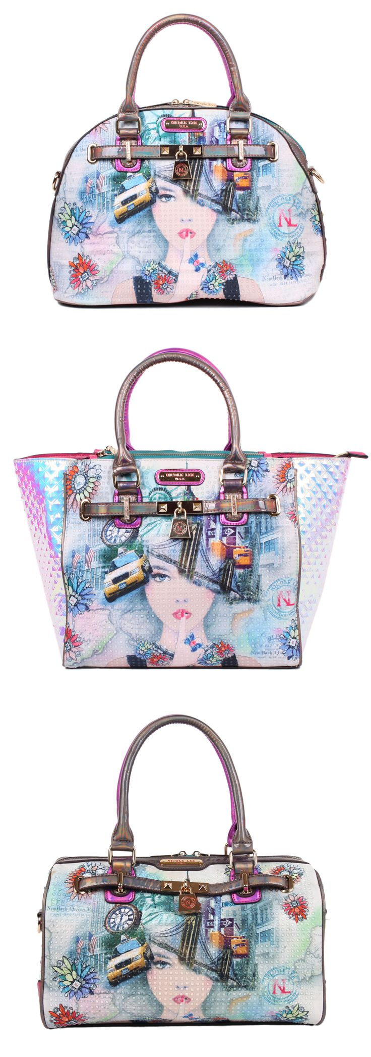 What's your style? A fashionable #satchel bag or a big #tote bag or a cute #bostonbag? Personally.... I WANT 'EM ALL.