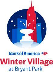 Bank of America Winter Village at Bryant Park - Ice skating, holiday shops and lots of good eats!