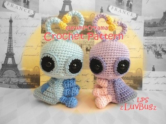 Amigurumi Love Tutorial : Love bug crochet pattern, kawaii amigurumi love bug, plush ...