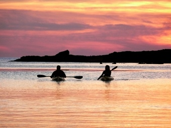 Autumn-Ibiza? IDEA 7.  SPORTS - KAYAK.  In these months there are still pretty warm temperatures yet far from the extreme heat of summer.