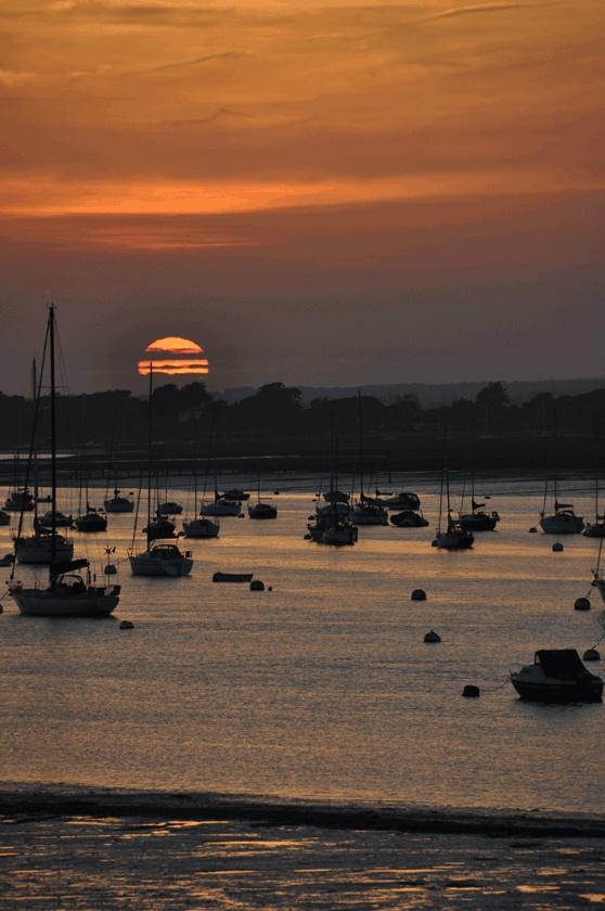 Sunset - Chichester harbour UK sunset