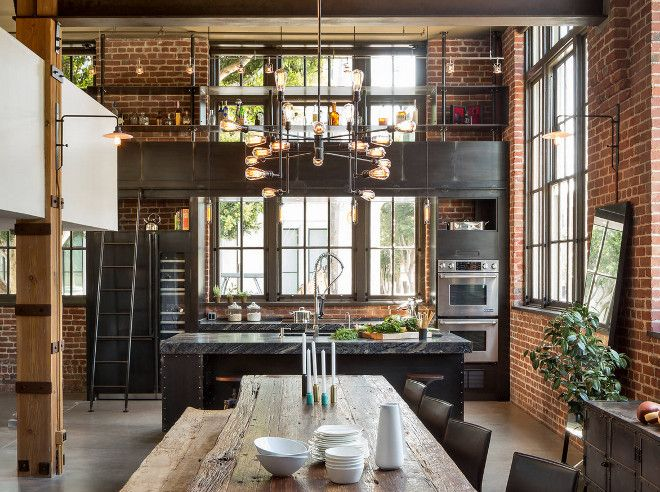 Industrial Interiors best 25+ industrial kitchens ideas on pinterest | industrial house