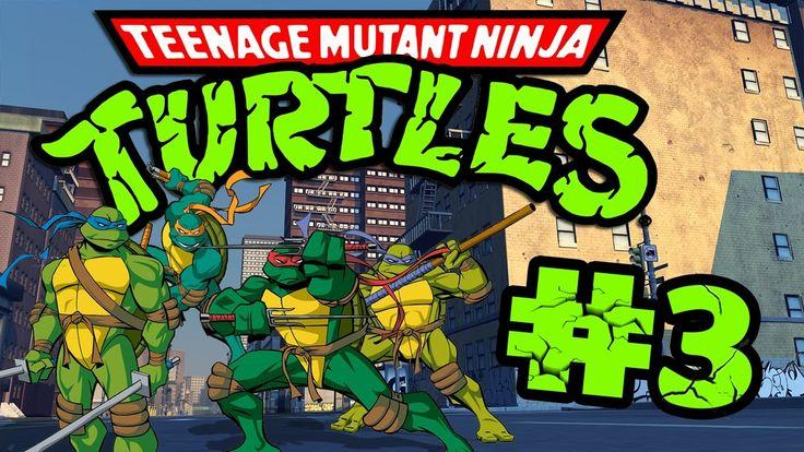 Retro Now|Teenage Mutant Ninja Turtles:Turtles in Time Stage#3 HD
