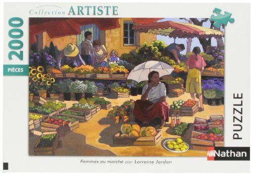 Jigsaw Puzzle - 2000 Pieces - Women at the Market