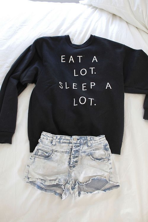 Teenage Fashion Blog: Eat # Sleep # Outfit