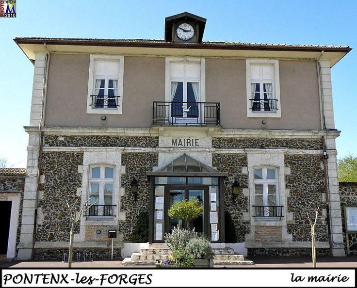 PONTENX-FORGES   ---   la mairie