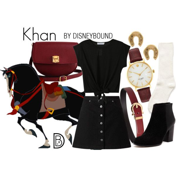 Disney Bound - Khan