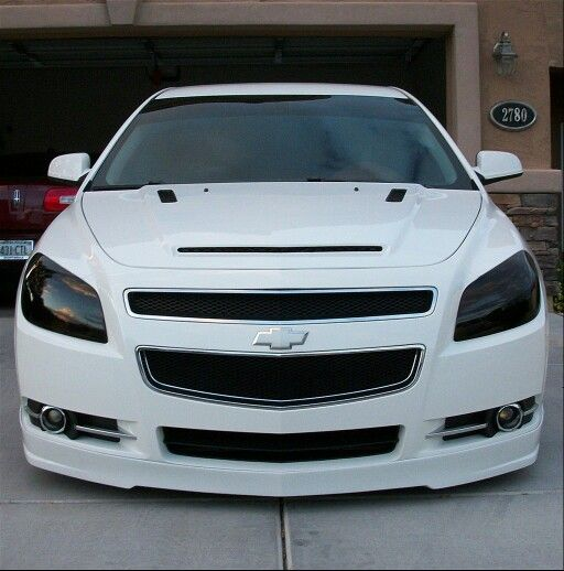Chevy Malibu with Tinted Headlights