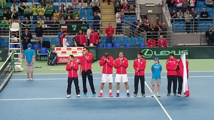 Davis Cup, Polska - Litwa, Płock 2015.