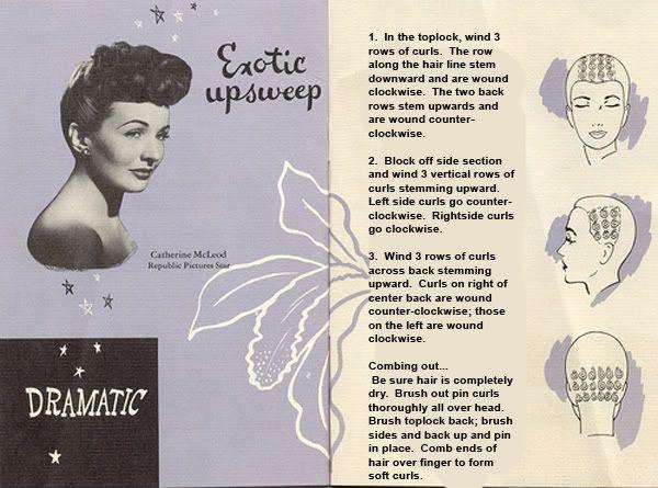1015 best beauty images on pinterest vintage beauty vintage rh pinterest com Marilyn Monroe Pin Curls Pin Curl Patterns