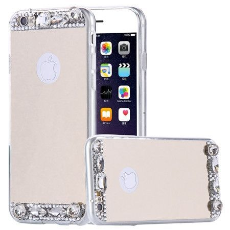 For iPhone 5 5s SE Cases Luxury Mirror Glitter Diamond TPU Case For iPhone 5 5 s se Soft Silicone Slim Protective Back Cover