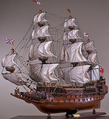 SOVEREIGN-OF-THE-SEAS-43-wood-model-ship-large-scale-sailing-tall-British-boat