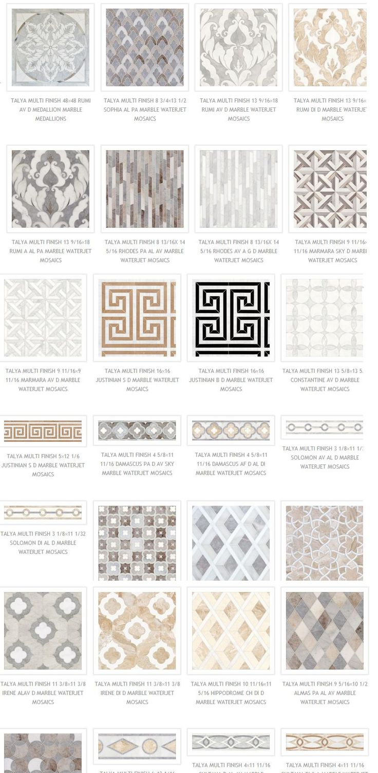 ~Masterful Marble Mosaics | The English Room