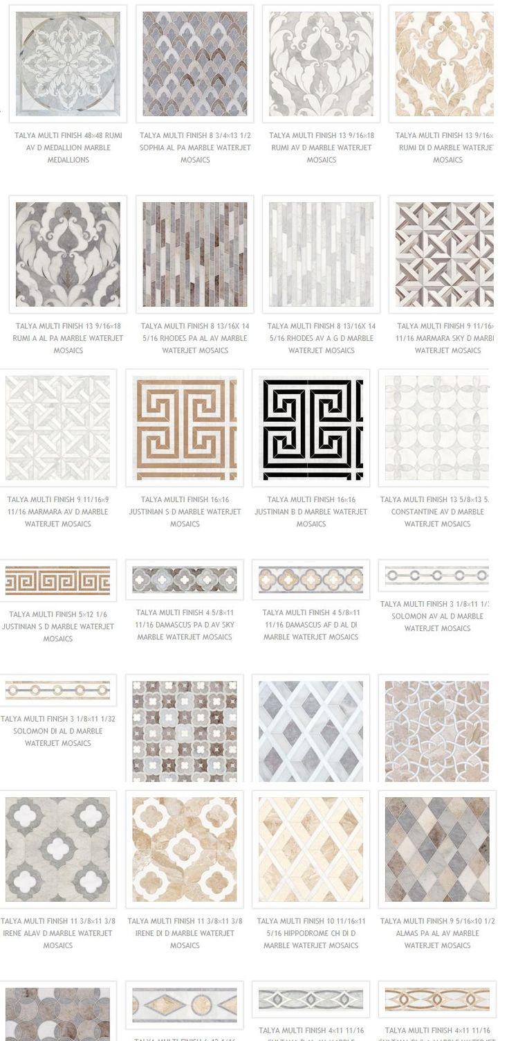 Masterful Marble Mosaics | The English Room