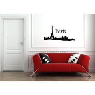 Наклейка по тематике от 2stick.ru.Увидеть Париж и умереть