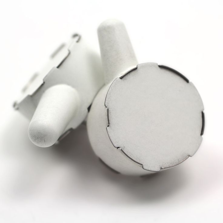 Simon Cottrell Double Circles, Fingers Brooch, 2013 Monel, Stainless steel.