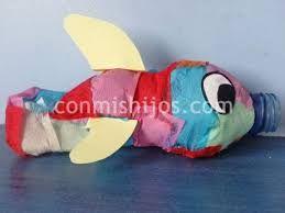 Image result for manualidades navideñas con material reciclable}