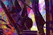 "New artwork for sale! - "" Sloth Sloths Zoo Wildlife Hanging  by PixBreak Art "" - http://ift.tt/2ugL9WL"