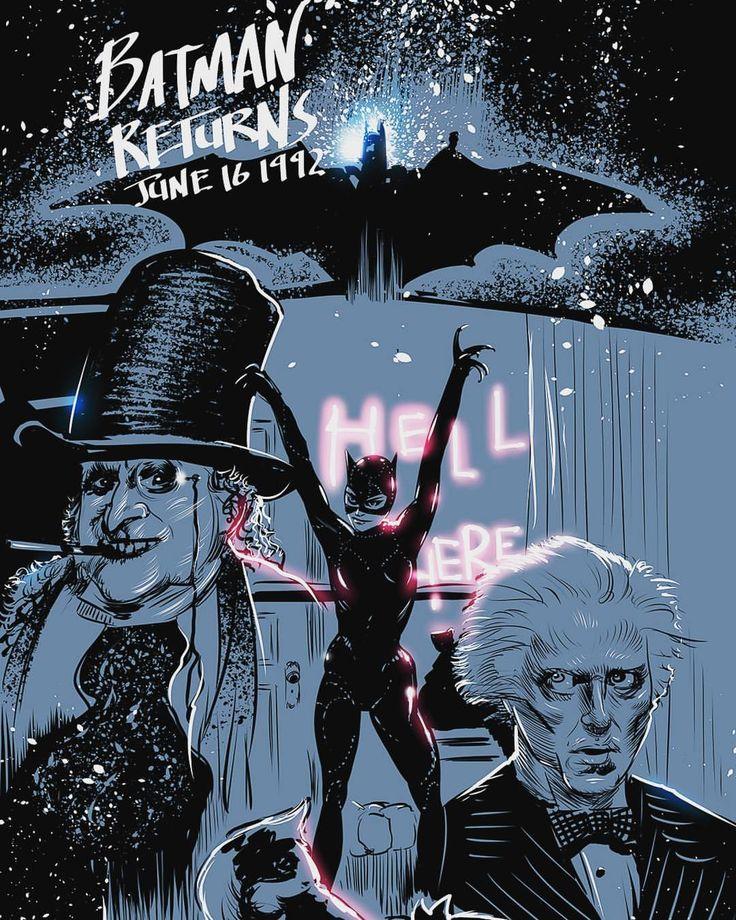 Batman Returns - William Bourassa Jr. @wbourassajr