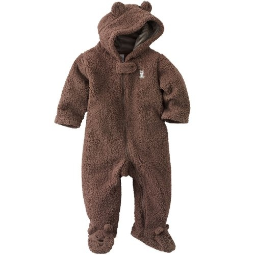 Carter's Boys Bear Sherpa Pram Suit: Cozy and warm! @Divya Silbermann (Bhaskaran): On its way to you! #Pram_Suit #Bear