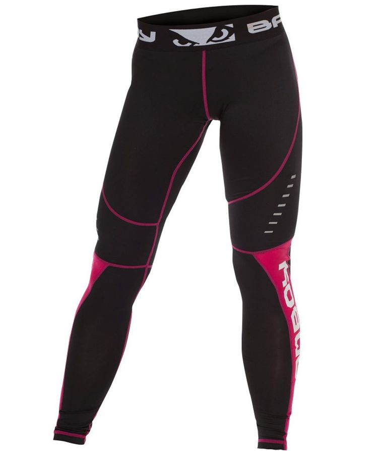 Bad Boy Women's Sphere Compression Leggings For NOGI Jiu Jitsu MMA and Combat Sports All of our team at BushidoWarehouse.com trains in one or many combat sports. All of us have used at least one or mo