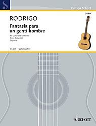 Fantasia para un Gentilhombre was composed by Rodrigo at the request of Andres Segovia. This and his Concierto de Aranjuez are his most popular compositions.