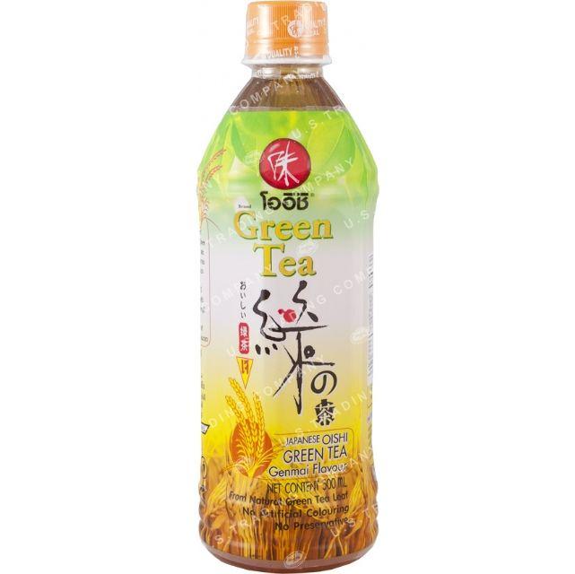 Oishi Green Tea (Genmai Flavor) from Thailand