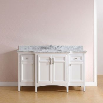 Odessa 60-in. Hardwood Vanity