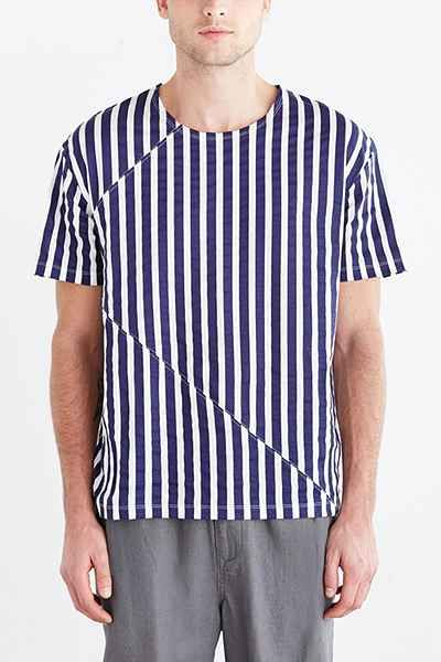 Repeat Stripe Tee Discount Cheap Online Largest Supplier RUWolnp