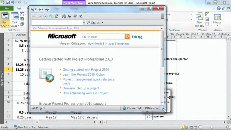 Create the Timeline View in Microsoft Project 2010