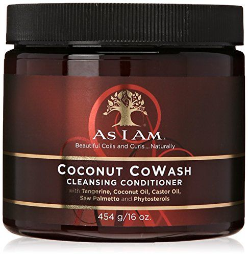 As I Am Coconut CoWash Cleansing Conditioner - Promotes H...