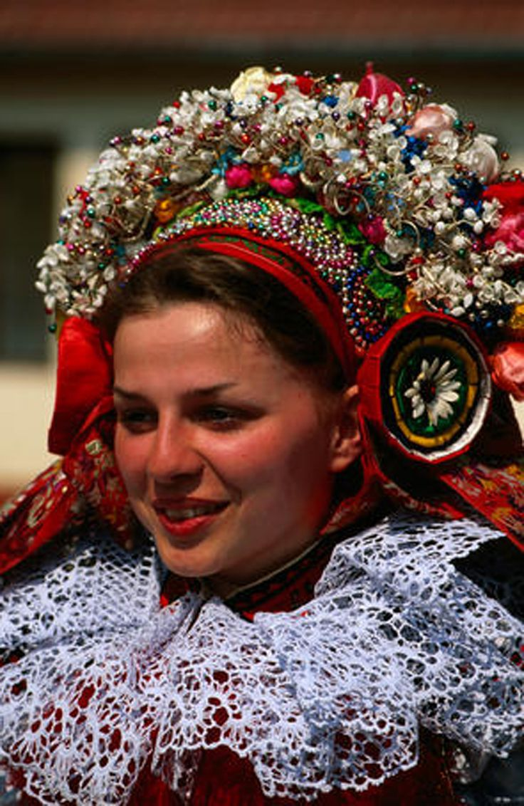traditional costume, Morava