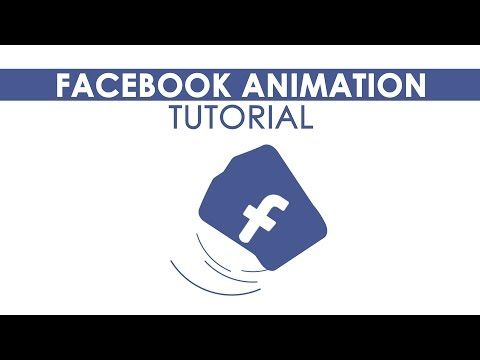 Facebook animation After Effects tutorial - YouTube
