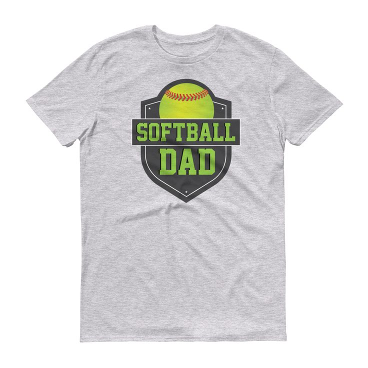 Men's Softball Dad T-Shirt