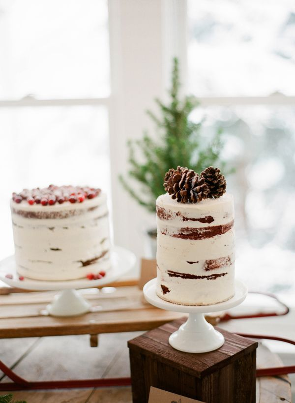 Cake with Pine Cones | photography by http://jacquelynnphoto.com/