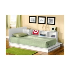 Monterey Platform Bed - White