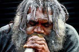 Didgeridoo Player, Blue mountains, Australia