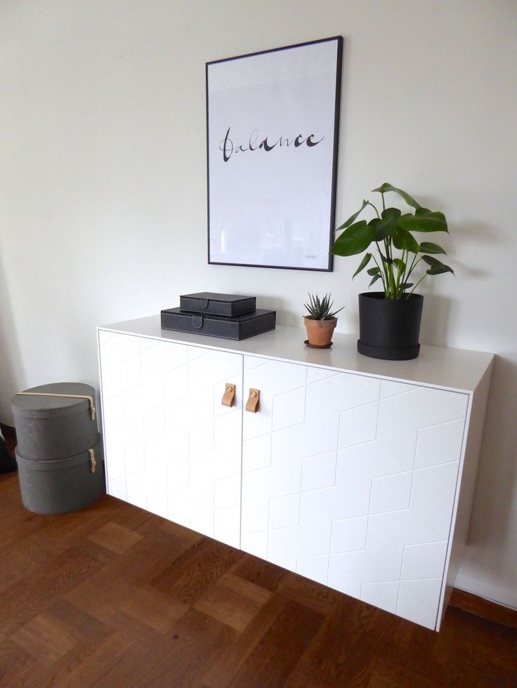 IKEA Besta unit upgraded with fronts & handles from superfronts. Wall hung.
