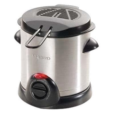 Presto 05471 1000-Watt 1-Liter Stainless-Steel Electric Deep Fryer, Silver stainless steel