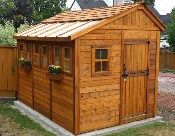 GARDEN SHED KITS for gardening, tools, bikes, garbage cans, etc. We've found the best wooden, metal, and plastic shed kits for sale. Plus, read tips on assembly.