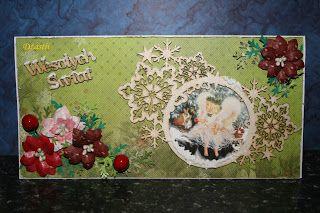 U Dżastii: Pierwsza kartka świąteczna.