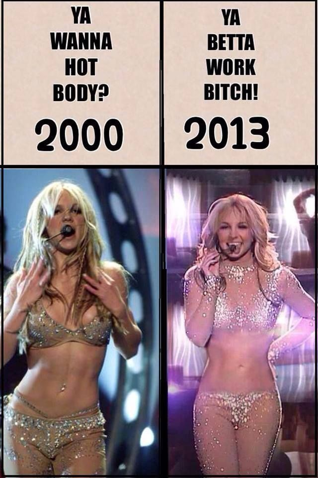 Britney Spears. AGE DOESNT MEAN ANYTHING