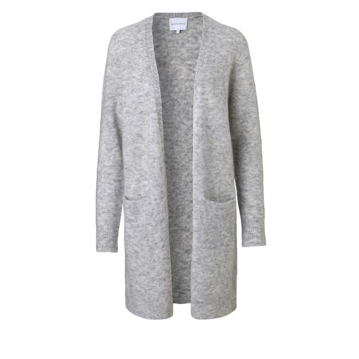 Second Female Brook knit new cardigan light grey