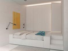 Transforming Apartment Maximizes Small Space - Design Milk